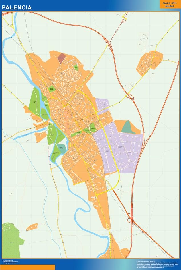 palencia street map