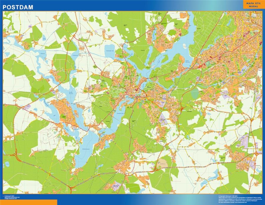 postdam street map