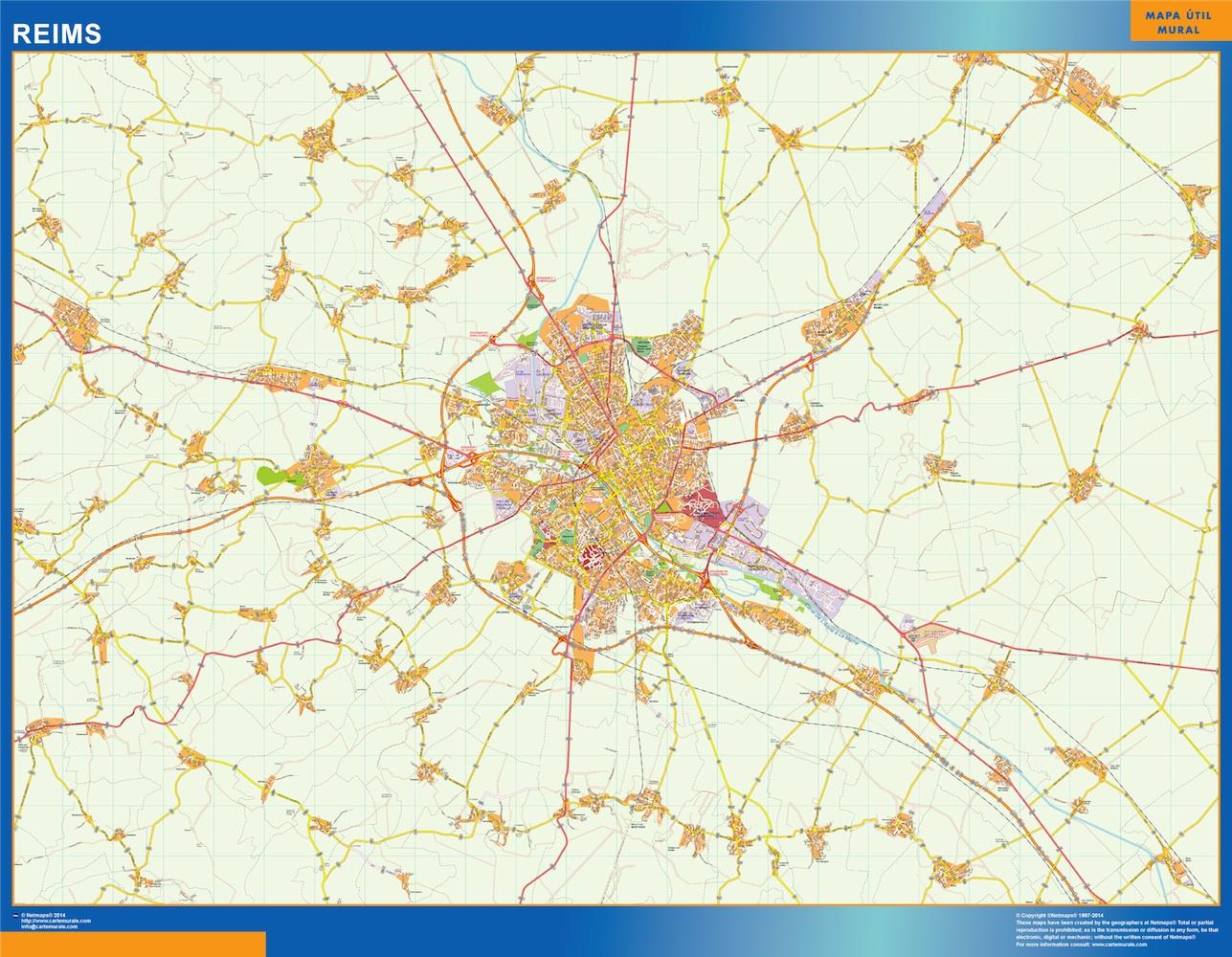 reims street map