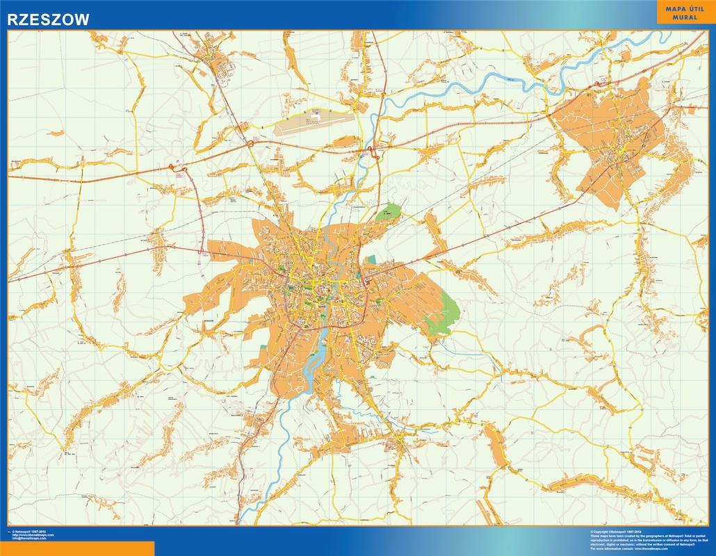rzeszow street map