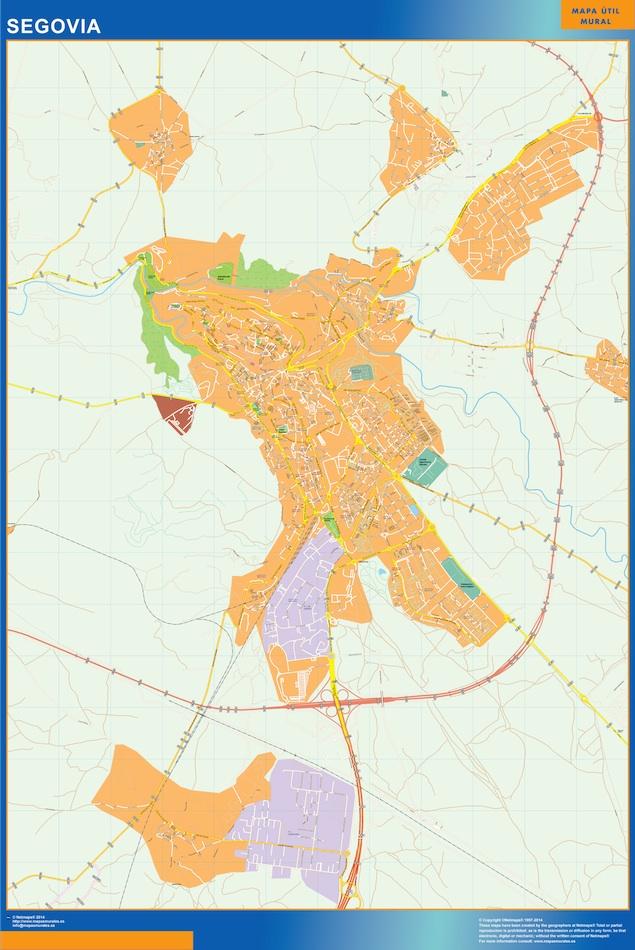 segovia street map