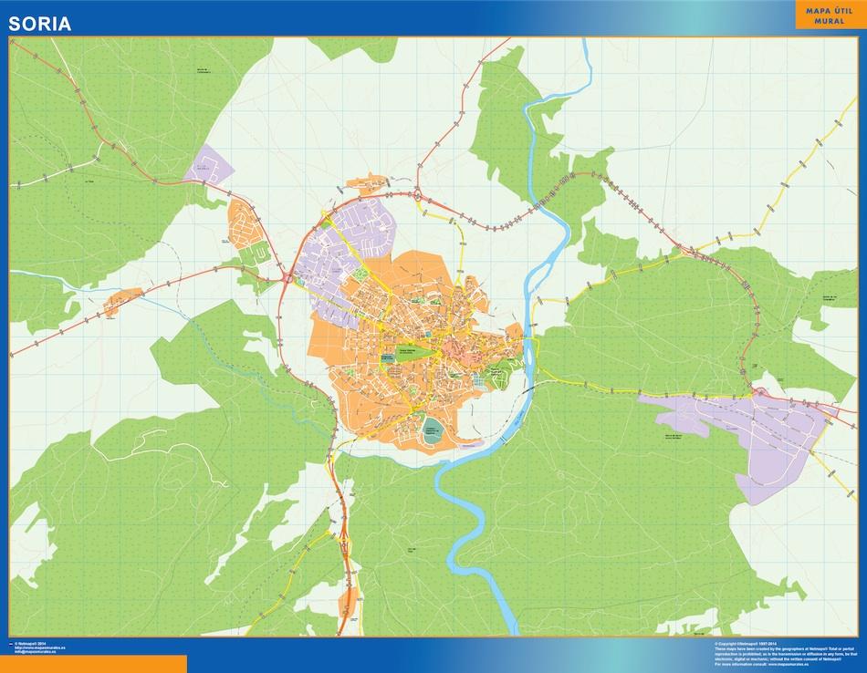 soria street map