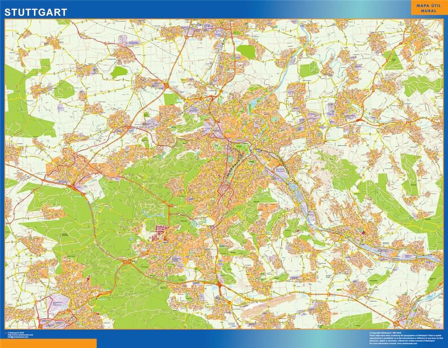 stuttgart street map