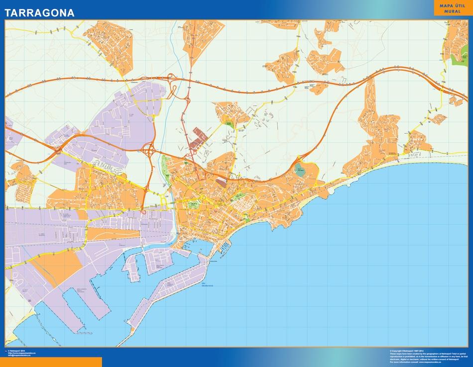 tarragona street map