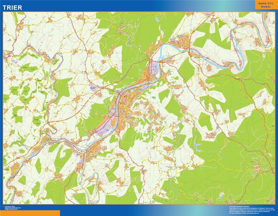 trier street map