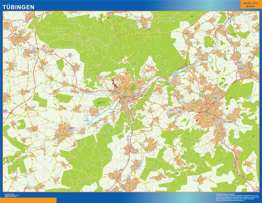 tubingen street map