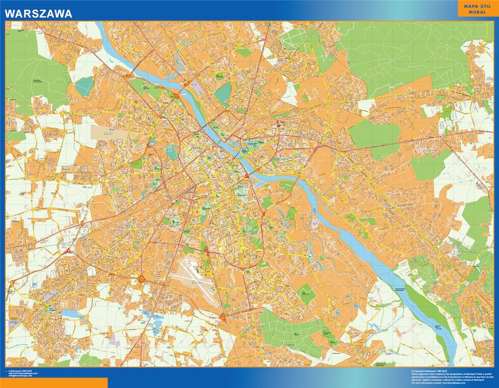 varsovia street map