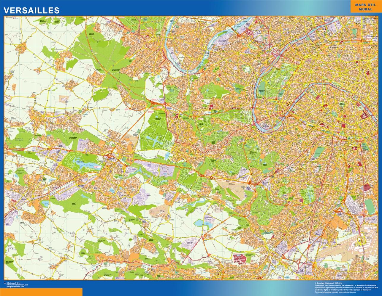 versailles street map