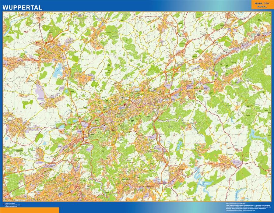 wuppertal street map