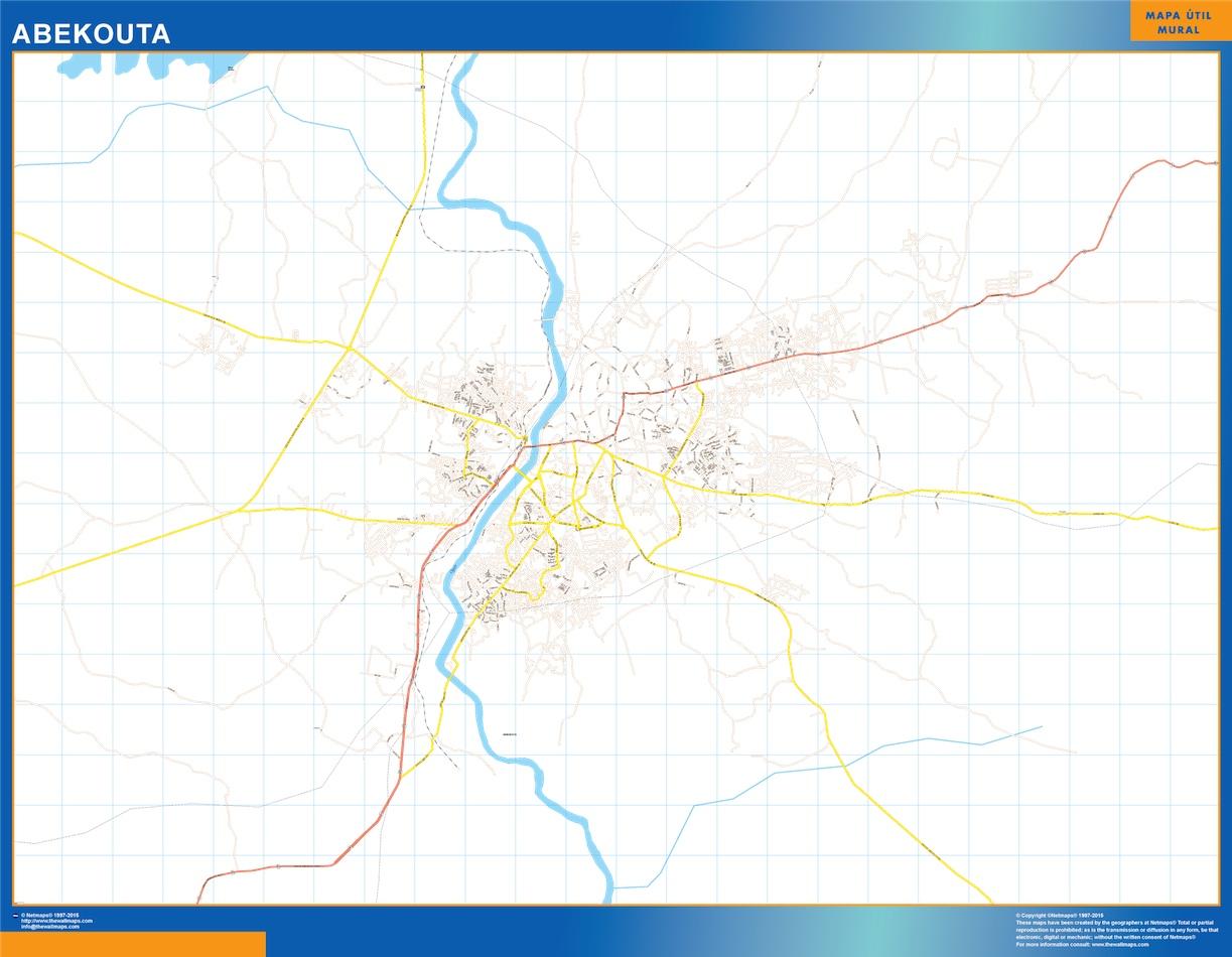 Abekouta map