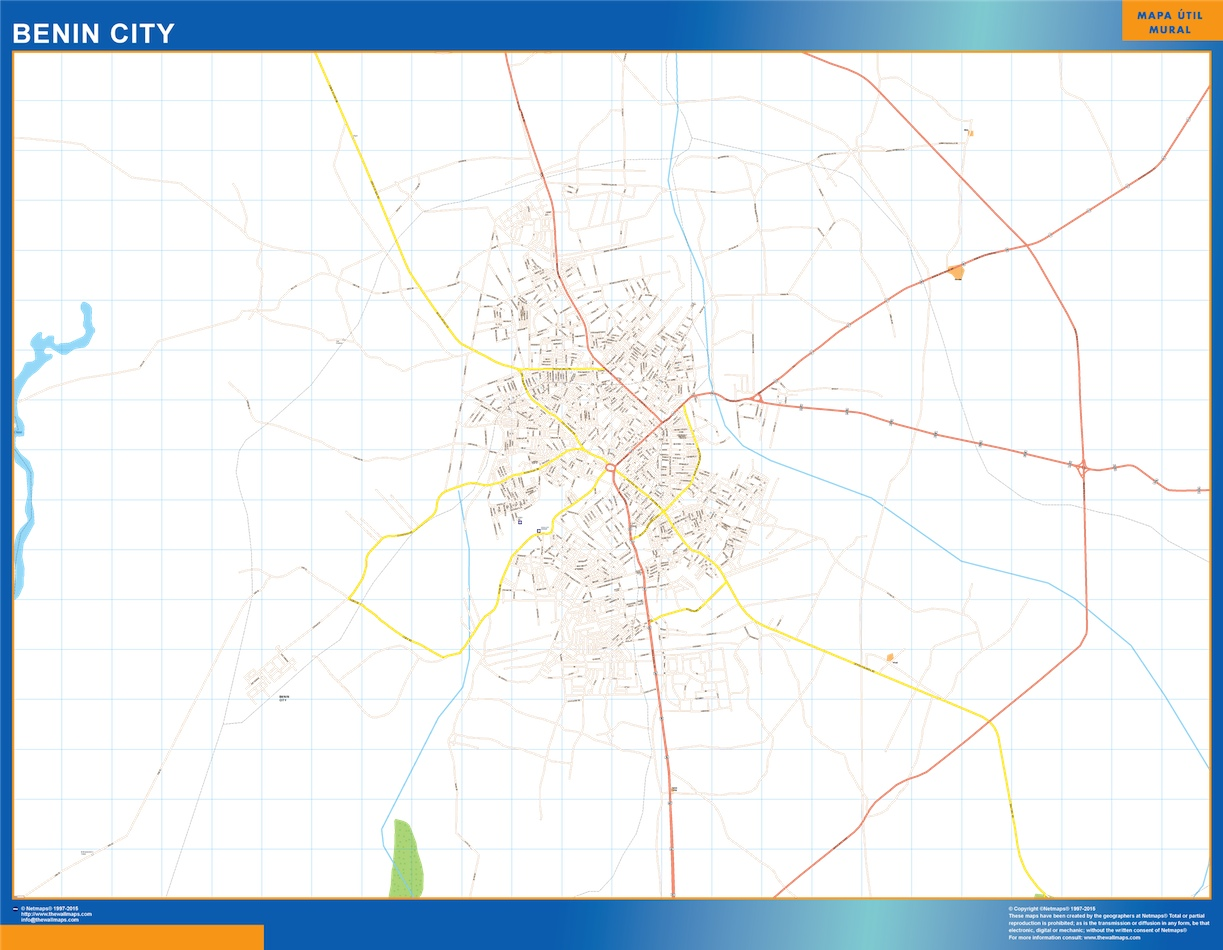 Benin City map