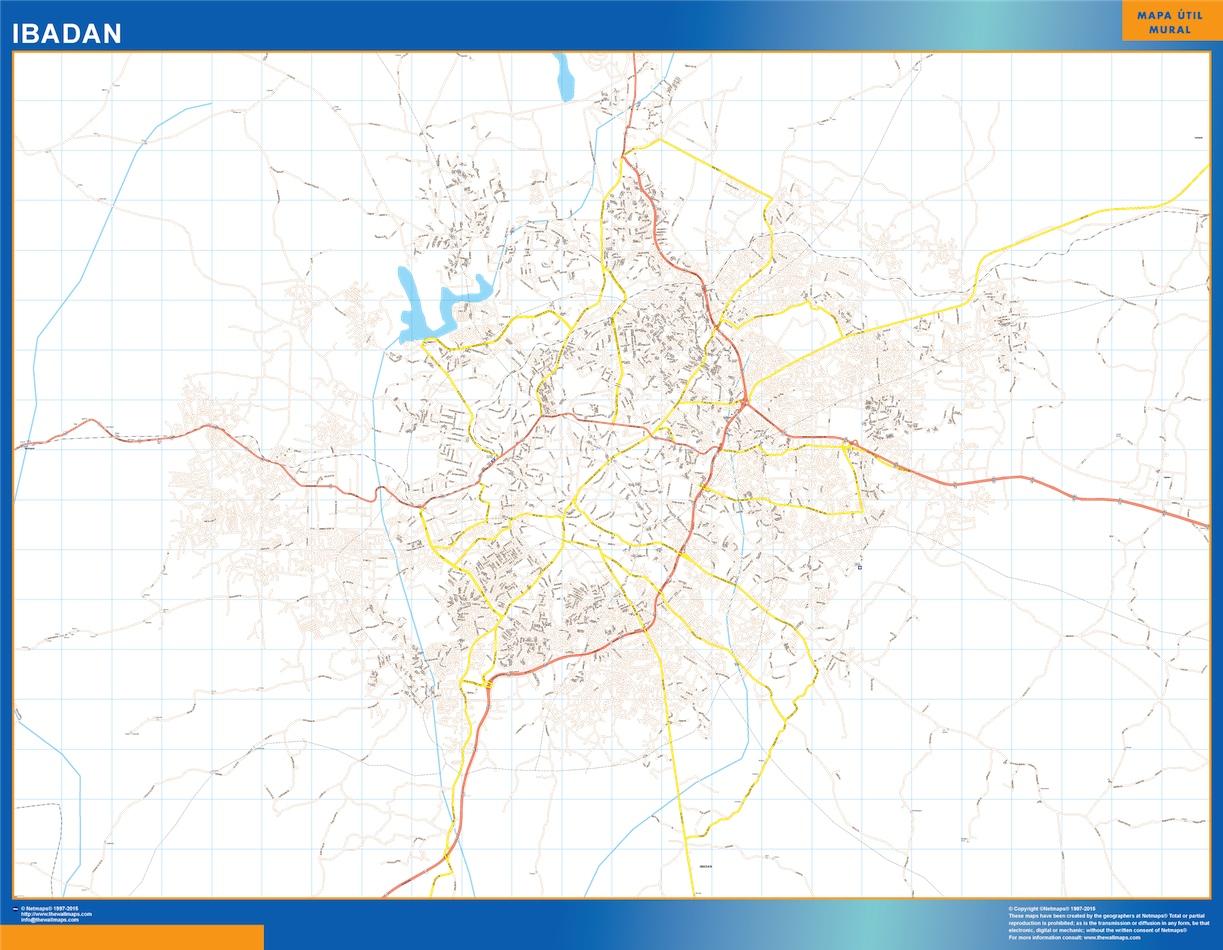 Ibadan map