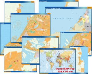 Maps emirates