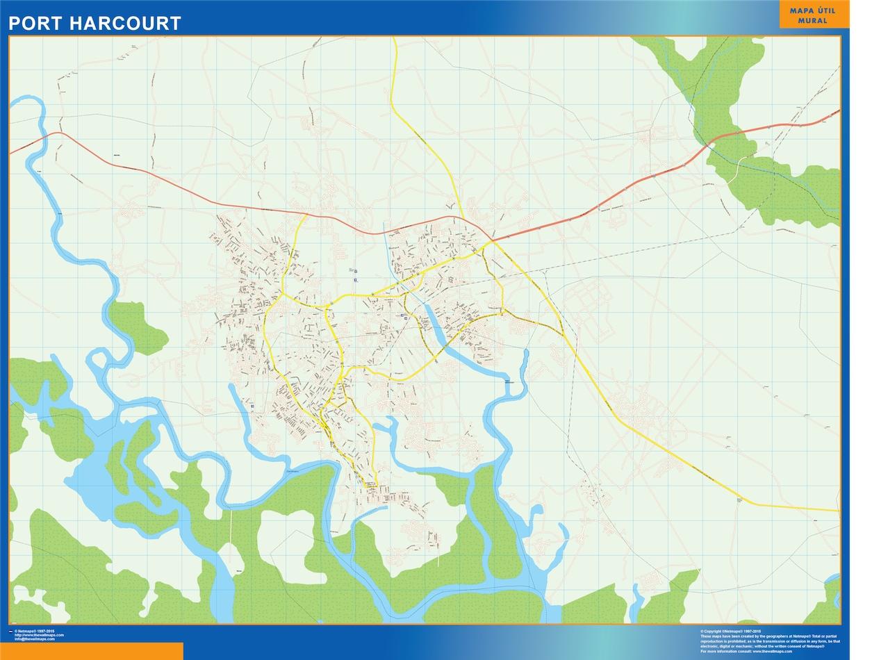 Port Harcourt map