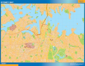 Sydney Bay Map