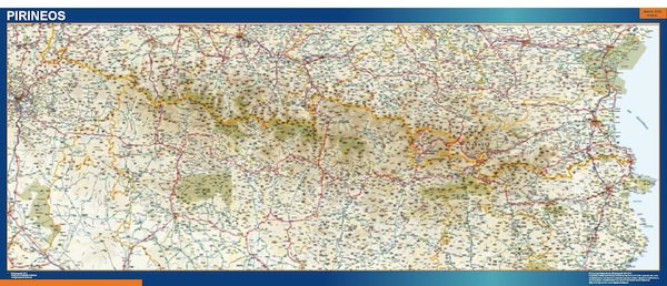 pyrenees map