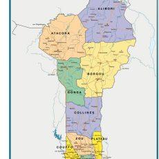 Benin Wall Maps