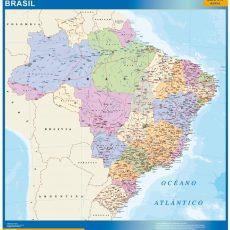 Brazil Wall Maps