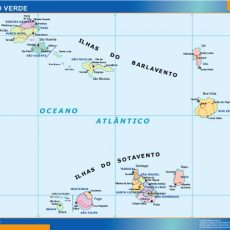 Cabo Verde Wall Maps