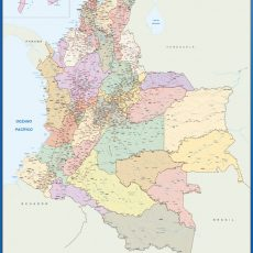 Colombia Wall Maps