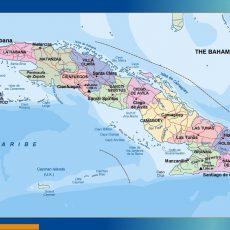 Cuba Wall Maps