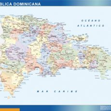 Dominican Republic Wall Maps