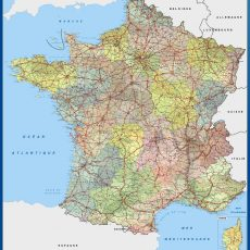 France Wall Maps
