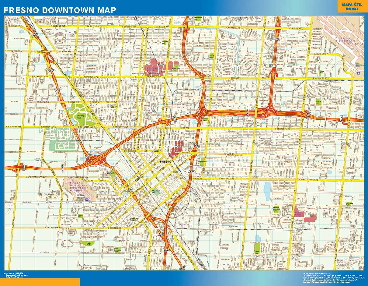 Downtown USA Wall Maps of the World Part 5