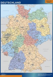 Germany Wall Maps