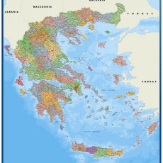 Greece Wall Maps