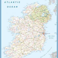 Ireland Wall Maps