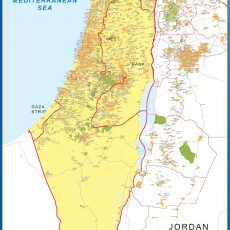 Israel Wall Maps