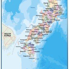 Japan Wall Maps