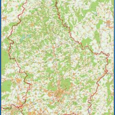 Luxembourg Wall Maps