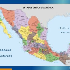 Mexico Wall Maps