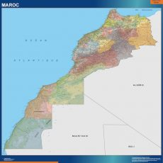 Morocco Wall Maps