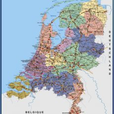 Netherlands Wall Maps