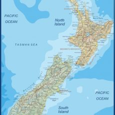 New Zealand Wall Maps