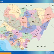 Nigeria Wall Maps