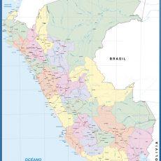 Peru Wall Maps