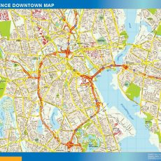 Providence Downtown map