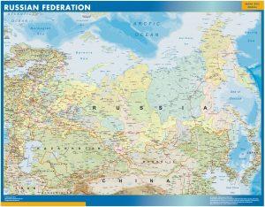 Russia Wall Maps
