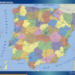 Spain Wall Maps
