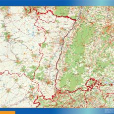 Alsace Map