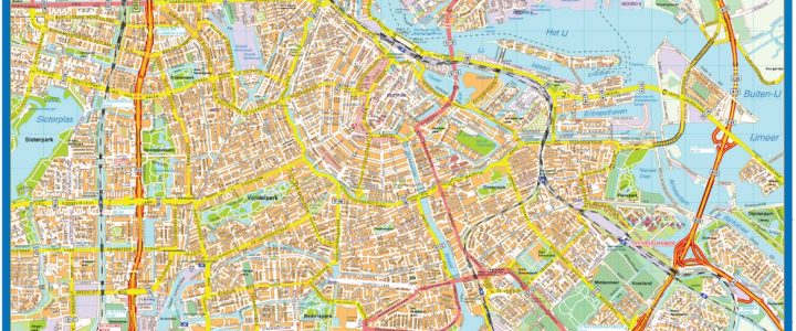 Amsterdam Downtown Map