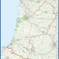 Aquitanie Map