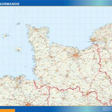 Baisse Normandie Map