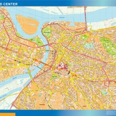 Beograd Downtown Map