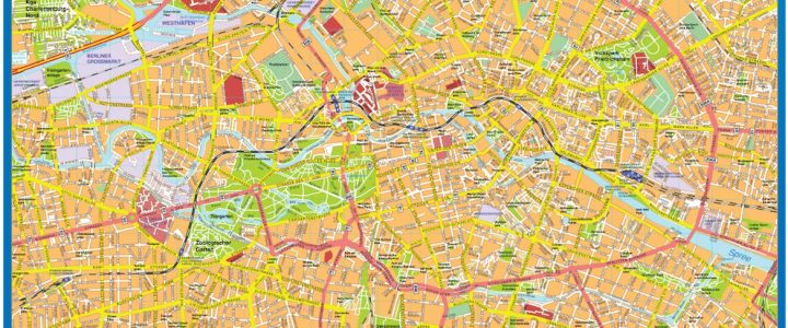 Berlin Downtown Map