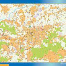 Braga Street Map